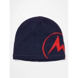 Шапка мужская Marmot Summit Hat | Arctic Navy/Victory Red | Вид 1