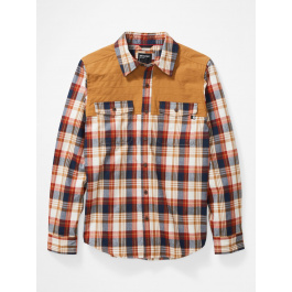 Рубашка мужская Marmot Needle Peak Midwt Flannel | Scotch | Вид 1