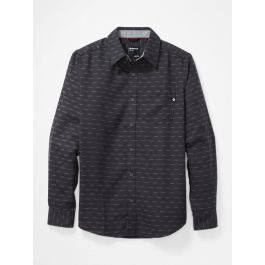 Рубашка мужская Marmot Fairfax Midweight Flannel LS | Dark Charcoal | Вид 1