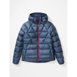 Куртка женская Marmot Wm's Hype Down Hoody   Arctic Navy/Wild Rose   Вид 1