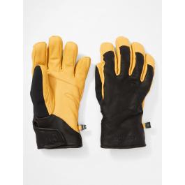 Перчатки мужские Marmot Dragtooth Undercuff Glove | Black/Tan | Вид 1