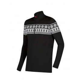 Пуловер мужской Newland MAN T-NECK Adamello | Nero/Bianco | Вид 1