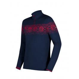 Пуловер мужской Newland MAN T-NECK Baldo | Blu/Rosso | Вид 1