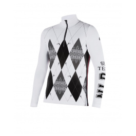 Пуловер мужской Newland RANDLE | White/Black | Вид спереди