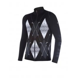Куртка мужская Newland NORMAN | Black/White | Вид спереди