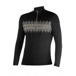 Пуловер мужской Newland HAL | Black/Khaki | Вид 1
