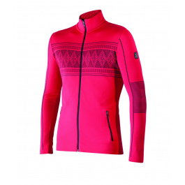 Куртка Newland Campiglio FULL ZIP MAN DH400 | Red/Black | Вид спереди