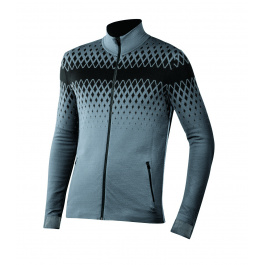 Куртка Newland Lavazè FULL ZIP MAN DH400 | Dark Grey/Black | Вид спереди