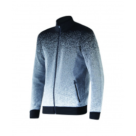 Куртка Newland Lillehammer FULL ZIP MAN DH400 | Black\White | Вид спереди