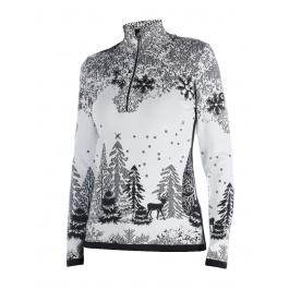 Пуловер женский Newland HILARY | Black/White | Вид спереди