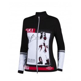 Куртка женская Newland LADY FULL ZIP Innsbruck | Black/White | Вид 1