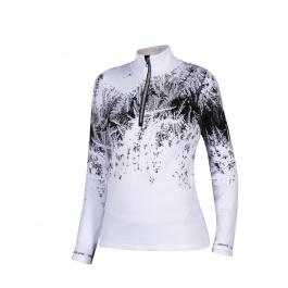 Пуловер женский Newland LADY T-NECK Klosters | White/Black | Вид 1