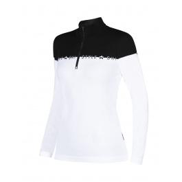 Пуловер женский Newland LADY T-NECK Masella | White/Black | Вид 1