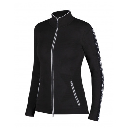 Куртка женская Newland LADY FULL ZIP Megeve | Black/White | Вид 1
