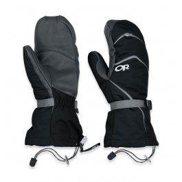 Рукавицы Outdoor Research Highcamp Mitts | Black | Вид 1