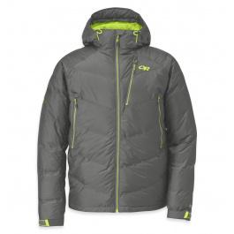 Куртка Outdoor Research Floodlight Jacket Men's | Pewter/Lemongrass | Вид 1