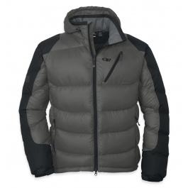 Куртка Outdoor Research Virtuoso Hoody Men's | Pewter/Black | Вид 1