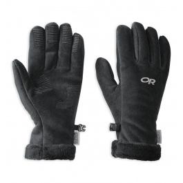 Перчатки женские Outdoor Research Fuzzy Gloves | Black | Вид 1