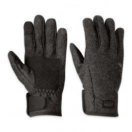 Перчатки Outdoor Research Turnpoint Sensor Gloves| Charcoal | Вид 1