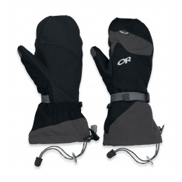 Рукавицы Outdoor Research Meteor Mitts | Black/Charcoal | Вид 1