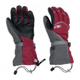 Перчатки Outdoor Research Highcamp Gloves | Retro Red/Charcoal | Вид 1