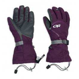 Перчатки женские Outdoor Research Wm's Highcamp Gloves | Plum/Charcoal | Вид 1