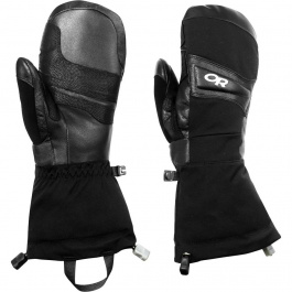 Рукавицы Outdoor Research W's Crossline Mitts | Black | Вид 1