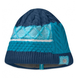 Шапка женская Outdoor Research Silva Beanie | Abyss/Alpine Lake | Вид 1