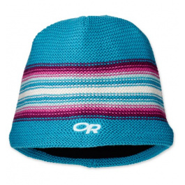 Шапка детская Outdoor Research Kid's Spitsbergen Beanie | Turquoise/Berry | Вид 1