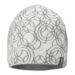 Шапка женская Outdoor Research Oracle Beanie | White/Pewter | Вид 1