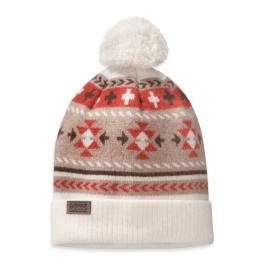 Шапка женская Outdoor Research Puebla Beanie | White/Caf | Вид 1