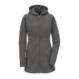 Куртка женская Outdoor Research Longitude Hoody Women's | Pewter | Вид 1