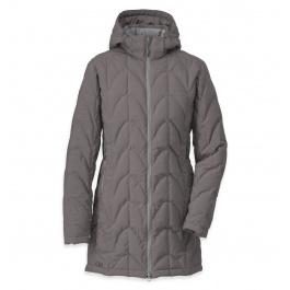 Куртка женская Outdoor Research Aria Storm Parka Women's | Pewter | Вид 1