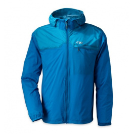 Ветровка Outdoor Research Helium Hybrid Jacket | Glacier/Hydro | Вид 1