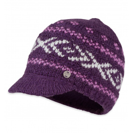 Шапка женская Outdoor Karia Beanie Womens | Elderberry | Вид 1