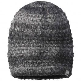 Шапка Outdoor Research Picchu Beanie | Black/Charcoal | Вид 1