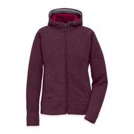 Куртка женская Outdoor Research Salida Hoody Womens | Pinot | Вид 1