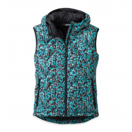 Жилет женский Outdoor Research Aria Print Vest Womens | Alpine Lake | Вид 1