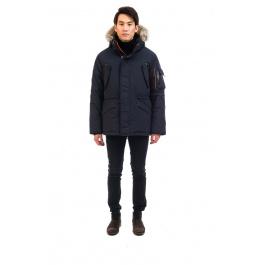 Куртка OSC ATIM | Cold Lake Blue | Вид спереди