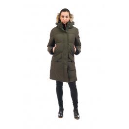 Куртка женская OSC SIKU | Alpine Moss | Вид спереди