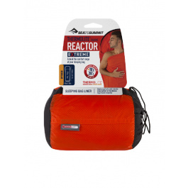 Вкладыш в спальник Sea To Summit REACTOR EXTREME | Orange Sack/Red Liner | Вид 1