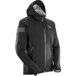 Куртка мужская Salomon BONATTI WP JKT M | Black | Вид 1