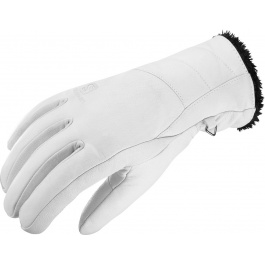 Перчатки женские Salomon NATIVE W | White | Вид 1