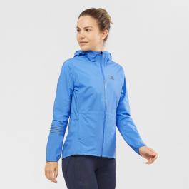 Куртка женская Salomon LIGHTNING WP JKT W | Marina | Вид 1
