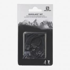 Набор шнурков Salomon Shoes Quicklace Kit | Black | Вид 2