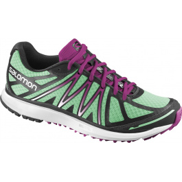 Кроссовки женские Salomon X-Tour W | Wasabi/White/Mystic Purple | Вид 1