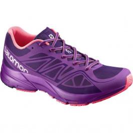 Кроссовки женские Salomon Sonic Aero W | Cosmic Purple/Azalee Pink/Madder Pink | Вид 1