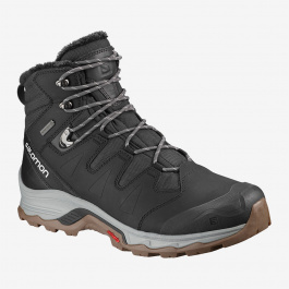 Ботинки мужские Salomon QUEST WINTER GTX® | Phantom/Black/Vapor Blue | Вид 1