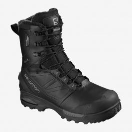 Ботинки мужские Salomon TOUNDRA PRO CSWP | Black/Black/Magnet | Вид 1