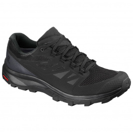 Кроссовки Salomon OUTline GTX | Black/Phantom/Magnet | Вид 1